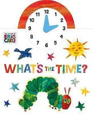 The World of Eric Carle: What's The Time?-ExLibrary