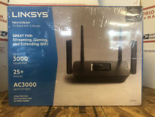 New Linksys AC3000 3.0 Gbps Max-Stream Tri-Band WiFi 5 Router MR9000-NP