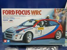 FORD FOCUS WRC WITH 1:24 SCALE MOTORSPORTS  TAMIYA NO. 217