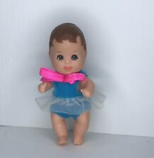 Mattel 1973 Barbie Krissy Baby Brown Molded Hair Outfit Sister