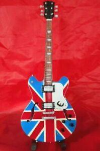 Oasis Noel Gallagher Tribute Miniature Guitar (UK SELLER)