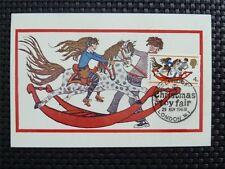 GB UK MK 1968 CHRISTMAS HORSE TOY MAXIMUMKARTE CARTE MAXIMUM CARD MC CM c4777