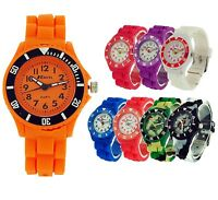 Ravel Girls Boys Rotating Bezel Silicone Strap Sports Watch Xmas Gift For Kids