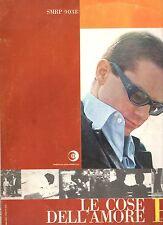 GINO PAOLI disco LP LE COSE DELL'AMORE made in ITALY orig.1963 ENNIO MORRICONE
