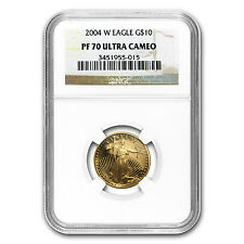 2004-W 1/4 oz Proof Gold American Eagle PF-70 NGC - SKU #19347