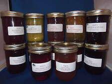 Nan's Wild Black Currant Jelly Preserves Homemade in Saskatchewan 6 jars  Jam