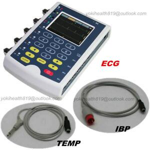 CONTEC MS400 Simulator Multi-parameter ECG RESP TEMP IBP Simulation