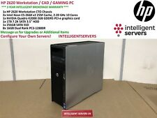 Workstation HP Z620 2x Xeon E5-2660 V2 2.20GHz 128GB 1TB SATA 256GB SSD K2000