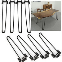 Table Legs 4Pcs Hairpin Table Legs Heavy Duty Easy Install Folding Coffee Table