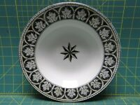 "Vintage 222 Fifth San Marco Geometric Salad Bowl Dinnerware Collection 9"" D"