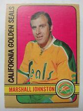1972-73 OPC O-Pee-Chee #171 Marshall Johnston RC California Golden Seals - VG