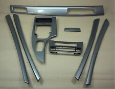 BMW 5 Series E60 E61 LCI Decorative Strip Dashboard Interior Trim Set Spacegrau
