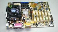 Asus P4B REV:1.05 Socket 478 Motherboard W/ P4 1.6GHz CPU+Heatsink+256MB.#TQ123