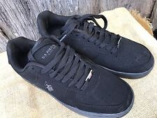 PAIR OF MEN'S SIZE 8 BLACK LACE UP US POLO ASSOCIATION SHOES