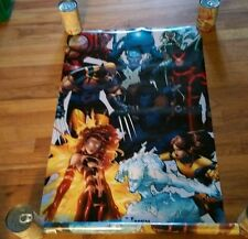 New X-Men Marvel Superhero Poster Wolverine Colossus Storm Professor Ice Man htf