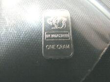 1 gram .999 Palladium - Rare Buffalo bar - 1g Pd