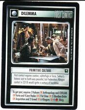 STAR TREK CCG First Contact  PRIMITIVE CULTURE