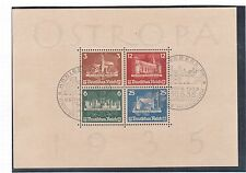 Germany #B68 XF Used Souvenir Sheet **With Certificate**