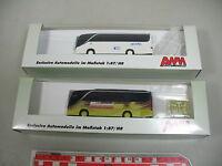 AK962-0,5# 2x AWM H0 Bus Kässbohrer Setra: 71706 Besseling+71714 Gössi, NEUW+OVP