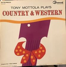 Tony Mottola Plays Country & Western, 1963 Command Label, Near Mint, Stereo
