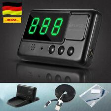 Auto GPS HUD Head Up Display Tachometer Geschwindigkeit Speed Warn System DECC