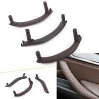 Inner Interior Door Pull Handle Trim Cover Set Mocha Fit BMW X5 X6 F15 F16 RHD
