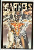 MARVELS BOOK THREE  Marvel Comics 1994 Alex Ross Acetate cover p271 NM