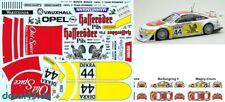 1/43 Decal Opel / Vauxhall Calibra 'Hasseröder' H.-J. Stuck ITC 1996 3 Varianten