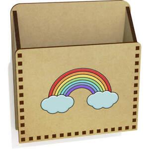 'Rainbow' Wooden Letter Holder / Box (LH00047626)