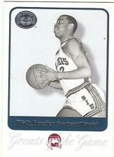 Walt Frazier 2001 Gotg card Southern Illinois Salukis Ny Knicks Basketball Nr Mt