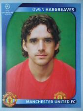 Panini 16 Owen Hargreaves Manchester United UEFA CL 2008/09