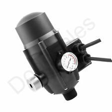 Water Pump Controller 240-Volt Black Adjustable Pressure Switch