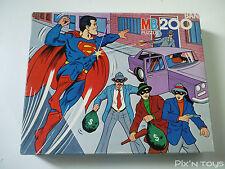 PUZZLE [200 pcs] / Super Héros Superman Marvel Comics - MB Puzzle 1980