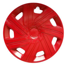 "4x14"" Wheel trims covers fit TOYOTA 14"" wheels red full set x 4"