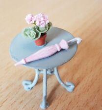 PARASOL umbrella pink vintage victorian for 1:24th scale dollshouse miniature