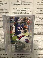 Fred Jackson Buffalo Bills Mini Helmet Card Display Collectible RB Auto