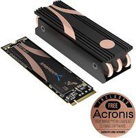 Sabrent SB-ROCKET-NVMe4-HTSK-2TB 4.0 Gen4 PCIe M.2 Internal SSD Extreme