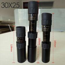 Monoculars 10-30x25 Zoom Monocular Telescope Pocket Hunting Optical no tripod