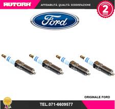 2050957 4 Candele originale Ford-Mazda-Volvo (MARCA ORIGINALE-FORD)