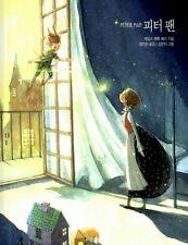 Peter Pan Korean Book Hard Cover Illustration Korea Fairy Tale Story