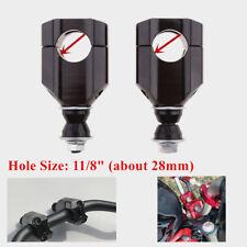 28mm 11/8'' Motorcycle Handle Bar Clamp Riser Clamp Aluminium Universal