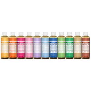 Dr. Bronner's Organic Liquid Soap 59ml - 946ml Bronners, Pure Castile
