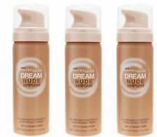 Lot of 3 MAYBELLINE Dream Nude Airfoam Air-Infused Foundation - 265 Sun Biege