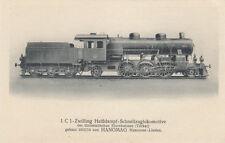 AK UNGEL. ZWILLING HEISSDAMPF SCHNELLZUGLOK TÜRKEI GEBAUT 1912/1914 (G2439)