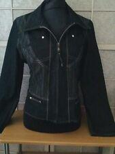 CINOCHE MAGNIFIQUE  veste (couleur bleu fonce  Taille 40/42 COMME NEUF
