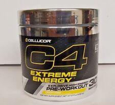 Cellucor C4 Extreme Energy 30 Servings Lemon Drop Explosive Pre Workout