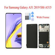 Para Samsung Galaxy A51 A515 Pantalla LCD Pantalla Táctil Digitalizador Repuesto Marco