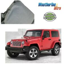 Car Cover Fits Jeep Wrangler 2 Dr 4WD SUV to 4.65m WeatherTec Ultra Non Scratch