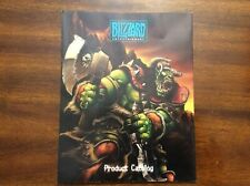 Blizzard Entertainment Product Catalog Warcraft 3 Poster Copyright 2000