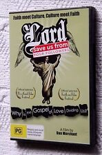 LORD- SAVE US FROM YOUR FOLLOWERS (DVD) R-ALL, LIKE NEW, FREE POST IN AUSTRALIA